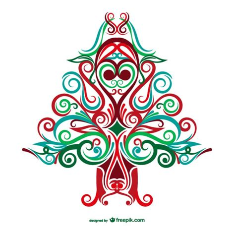 arbol de navidad vector 193 rbol de navidad abstracto descargar vectores gratis