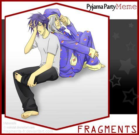 Pyjama Meme - pyjama party meme makoto maboroshi by mokolat on deviantart