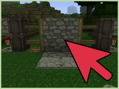 How To Make Door In Minecraft by How To Make An Automatic Piston Door In Minecraft With