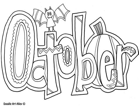 october coloring pages for kids school coloring pages