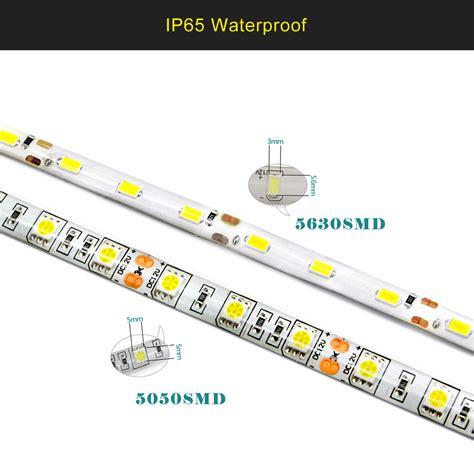 Led Hiled Nb 2835 Indoor 300 Led Dc 12v Putih waterproof led light 5630 5050 smd fiexible l 5m dc12v 300 leds