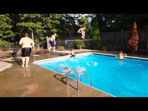 backyard flowrider homemade wave pool doovi