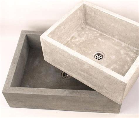 cement kitchen sink the 25 best concrete sink ideas on concrete
