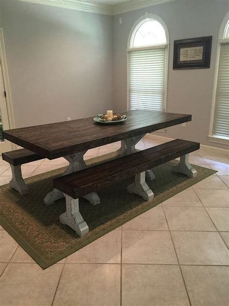 Rustic Dining Tables With Benches 1000 Ideas About Rustic Dining Tables On Dining Tables Rustic Dining Chairs And