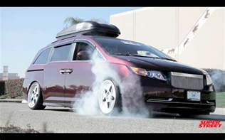 1000 Hp Honda Odyssey 1000 Hp Bisimoto Honda Odyssey Burnouts