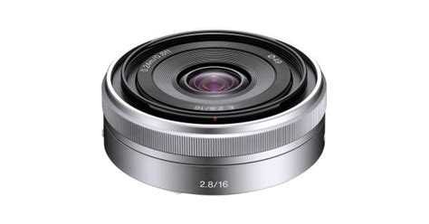 Lensa Wide Sony sony 16mm f 2 8 wide angle e mount lens