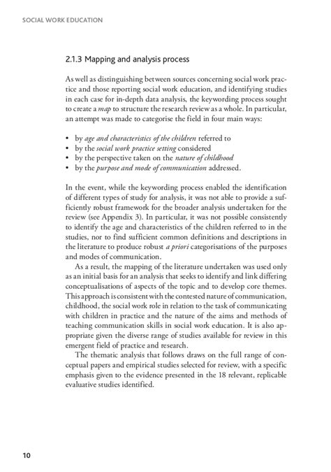 Social Work Report Writing Tips by Sle Of Study In Social Work Pdf Child Welfare Study Module California State