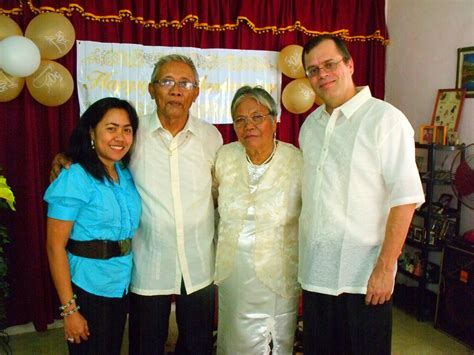 Happy 51st Wedding Anniversary Lolo & Lola! ~ The Dias