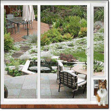 Patio Cat Door Patio Cat Door Ideal Modular Aluminum Patio Pet Door Cat Flap White Walmart Large Patio Pet