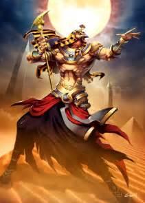 la garra lunar dios egipcio ra