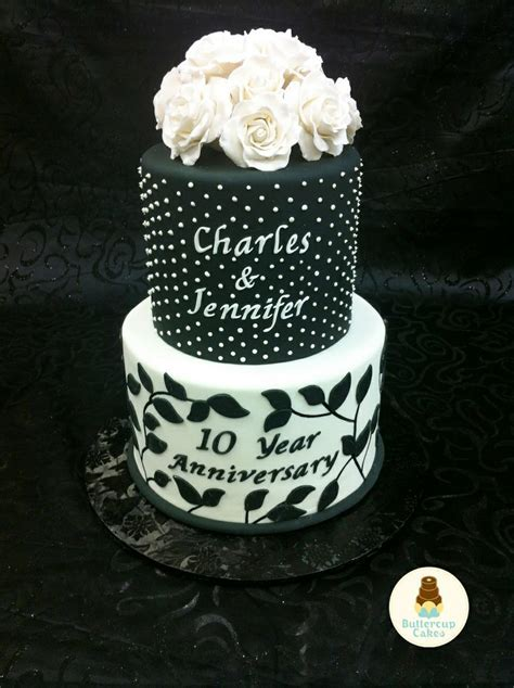 10 best 10TH ANNIVERSARY CAKES images on Pinterest