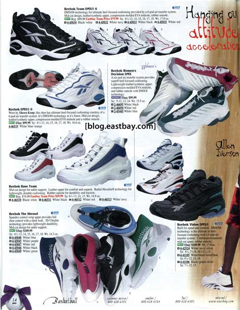 nike basketball shoes 1998 eastbay memory reebok basketball 1998 eastbay