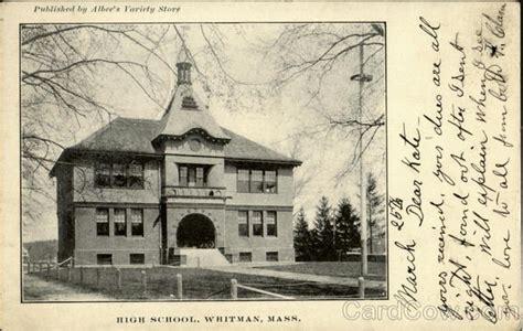 Whitman Post Office by High School Whitman Ma