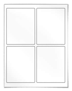 3 labels per sheet template 3 75 x 4 75 inch labels 4 labels per sheet