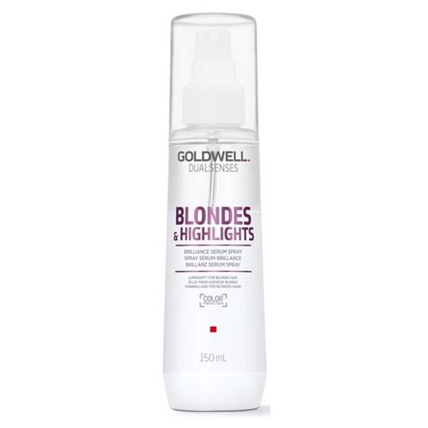 Serum Spray goldwell dualsenses highlights brilliance serum
