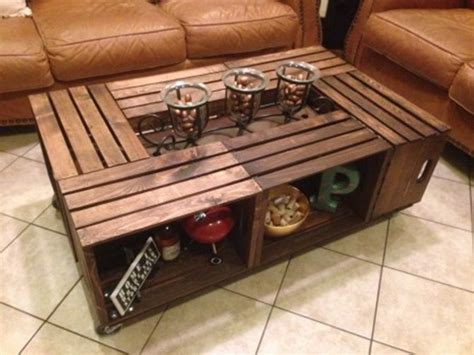 coffee table crate best 25 crate coffee tables ideas on wooden