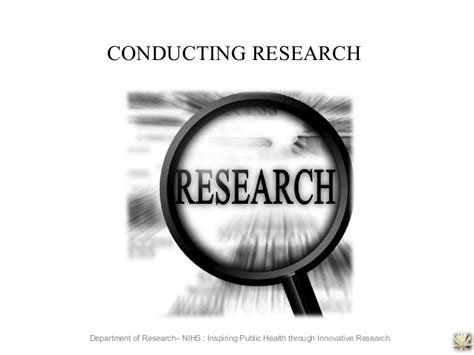 conducting research conducting dissertation research