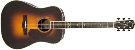 Gitar Akustik Dreadnought Pink fender paramount series pm 1 deluxe elektro akustik gitar