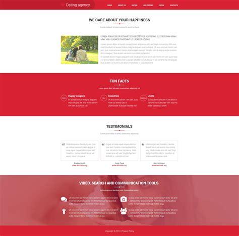 dating website template 52008 templates com