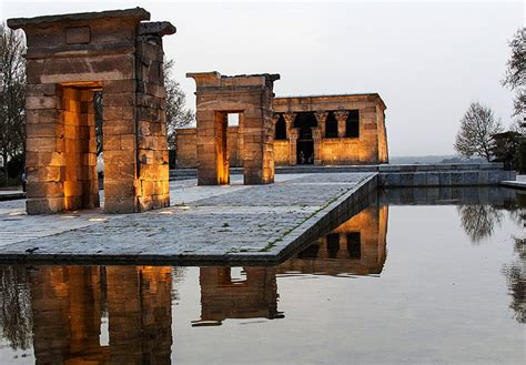temple of debod madrid spain montana principe pio madrid attractions planetware