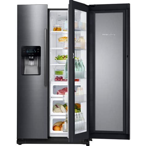 Samsung RH25H5611SG/AA 24.7 CuFt Black Stainless 2 Door