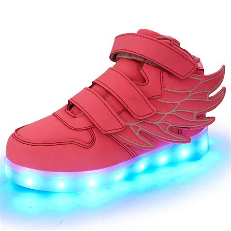 Light Shoes by Light Up Shoes For Luminous Wings Led Shoes Mcbshoes