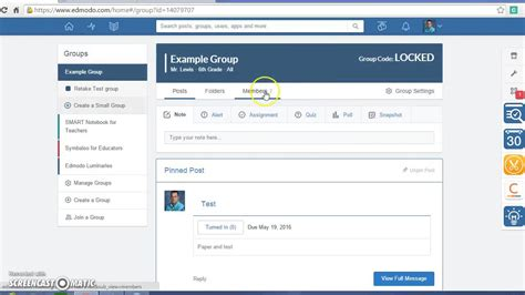 edmodo features edmodo 2015 new features youtube