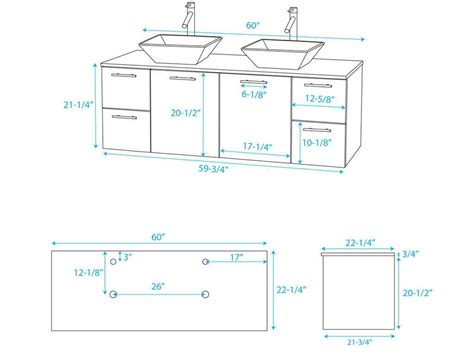 vanity cabinet size chart standard bathroom vanity top sizes bathroom decoration
