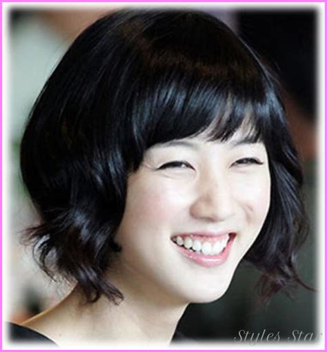 korean hairstyles for round face female korean haircut for girls with round face stylesstar com
