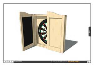 wood dartboard cabinet plans pdf how to make a