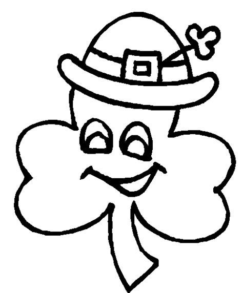 shamrock art coloring page 9 shamrock coloring pages st patricks day coloring pages