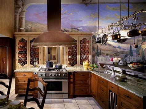 kitchen wall murals 10 amazing mediterranean kitchen interior design ideas