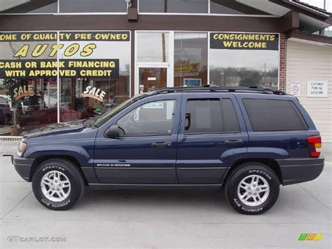 dark gray jeep cherokee 2003 patriot blue pearl jeep grand cherokee laredo 4x4