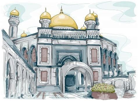 Mosque Drawing by Image Gallery Mosque Drawing