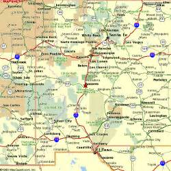 New Mexico Map Google by New Mexico Map