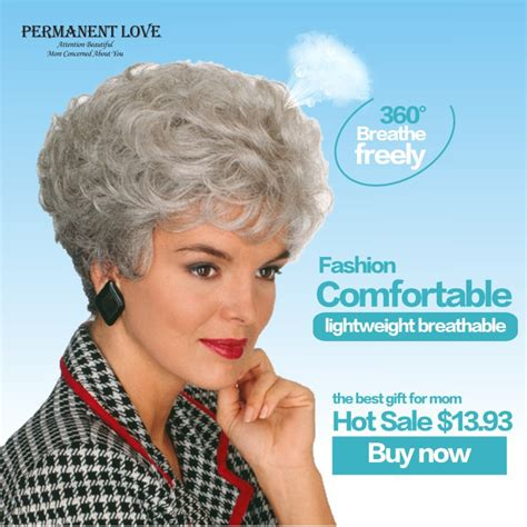 hair style for older women with no perms and thin hair popular discount wig buy cheap discount wig lots from