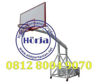 Ring Basket Per 2 Jaring alat olahraga ring basket portable papan pantu basket