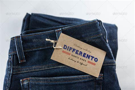 design label jeans jeans label mockup by kahuna design graphicriver
