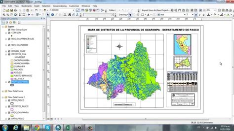 layout en excel insertar tablas excel en layout de arcgis 10 2 youtube