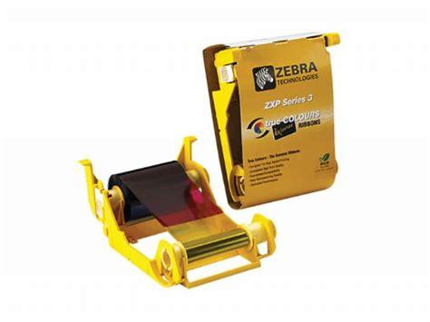 Ribbon Black Printer Zebra Zxp3 Ribbon Zxp3 Part Number 800033 801 ribbon zebra zxp series 3 cs id card supply