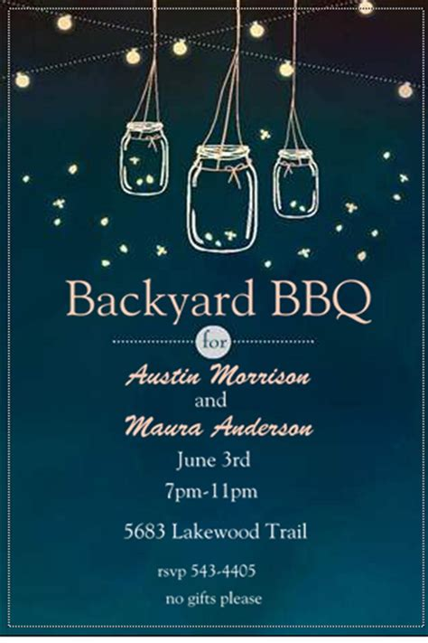Backyard Bbq Wedding Invitation Wording Engagement Barbecue I Do Bbq Invitations New