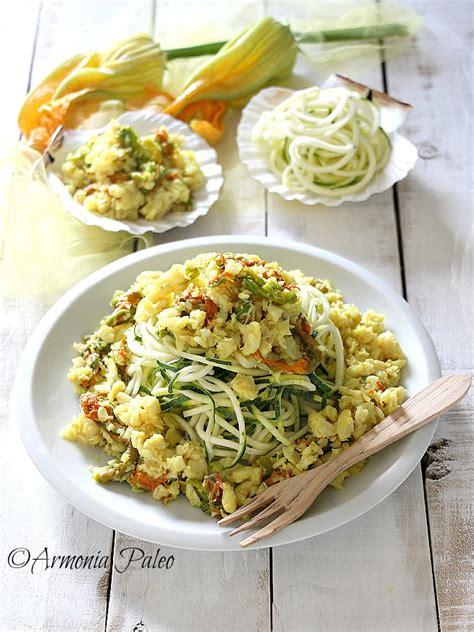 sugo con fiori di zucchine quot spaghetti quot di zucchine al rag 249 di pesce e fiori di zucca