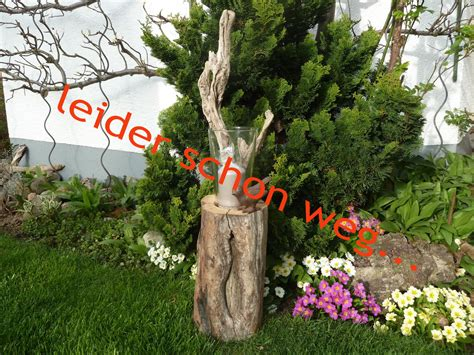 Kerzenhalter Garten treibholz gartendekoration www treibholz bodensee de