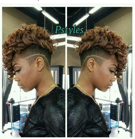 sidecut updo ideas best 25 curly mohawk hairstyles ideas only on pinterest