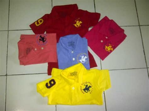 Shirt Baju Bayi kaos polo shirt polo ralph supplier baju anak branded s