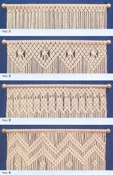 Macrame Design - 25 best macrame curtain ideas on