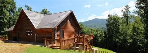 bryson city cabin rentals north carolina vacation rentals