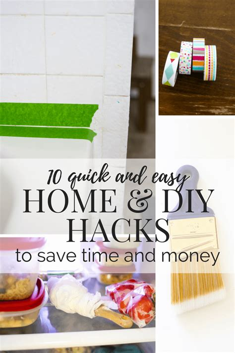 home hacks diy 10 home hacks to save you time money love renovations