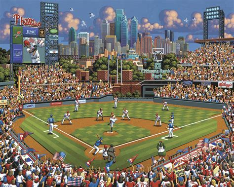 Philadelphia Phillies Giveaways - philadelphia phillies jigsaw puzzle puzzlewarehouse com