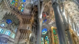 Sagrada familia interior color the magnificent interior of la sagrada